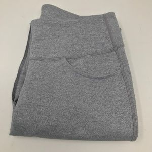 Lululemon Women's Gray Sweatpants  Exposed Seam